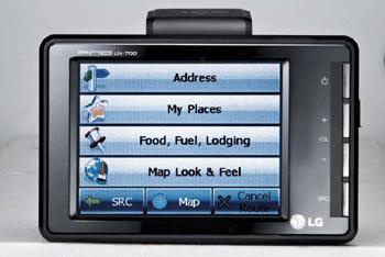 navigatore lg