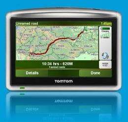 mappe tomtom one xl