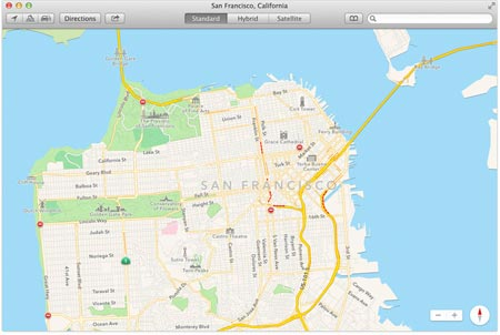 Apple OS X Maverick Mappe